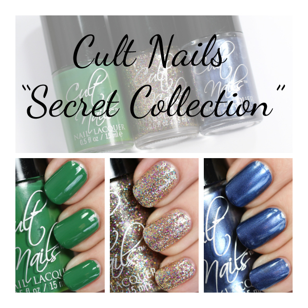 Cult Nails Secret Collection swatches via @alllacqueredup