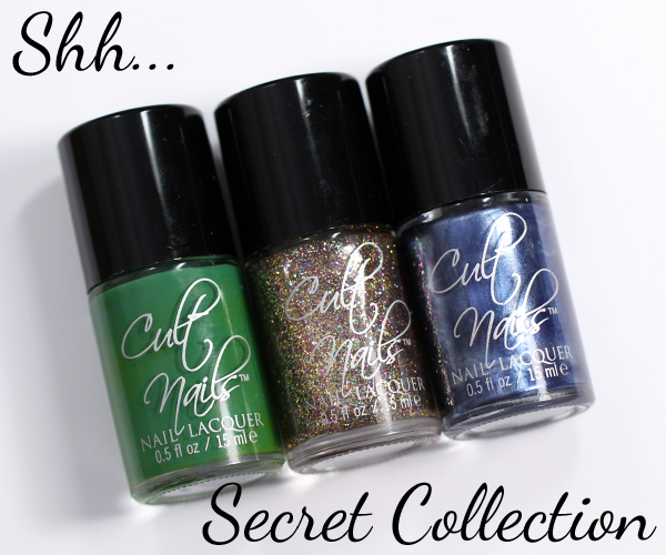 Cult Nails Secret Collection Swatches & Review