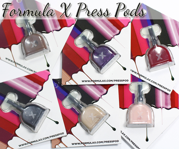 Formula X Press Pods swatches & review via @alllacqueredup