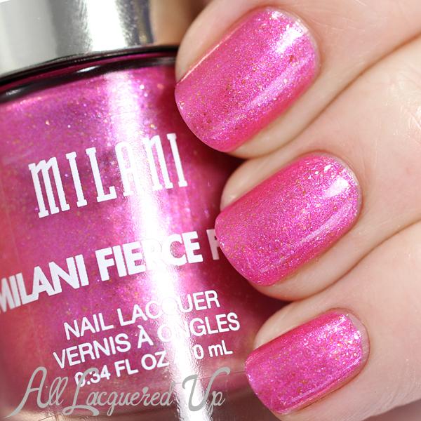 Milani Fierce Foil Capri swatch via @alllacqueredup