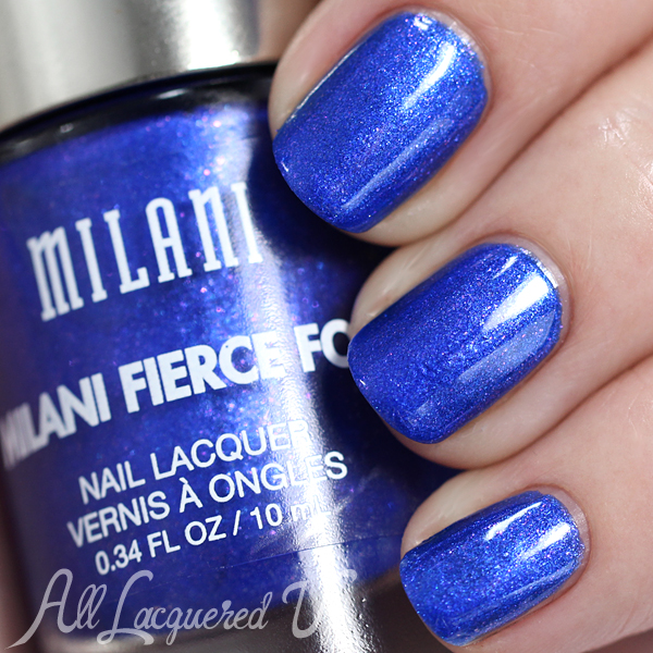 Milani Fierce Foil Venice swatch via @alllacqueredup