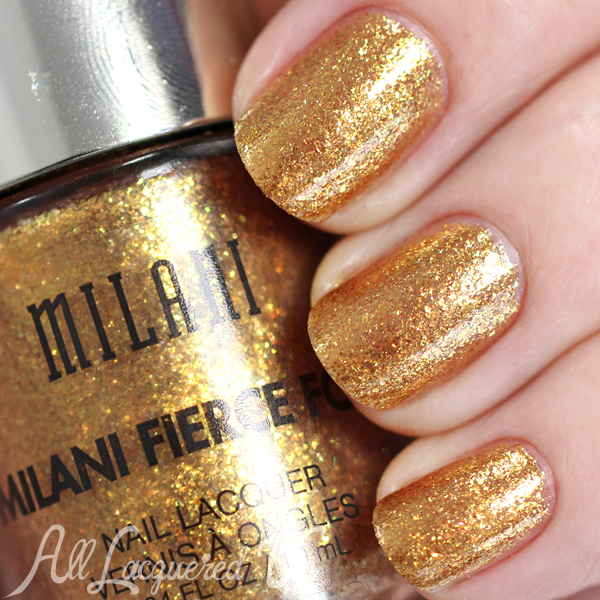 Milani Fierce Foil Nail Lacquer Swatches & Review : All Lacquered Up