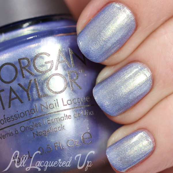 Morgan Taylor Cinderella - Best Ball Gown Ever swatch via @alllacqueredup