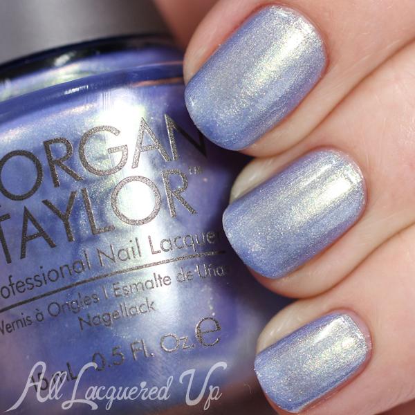 Morgan Taylor Cinderella - Best Ball Gown Ever swatch via @alllacqueredup