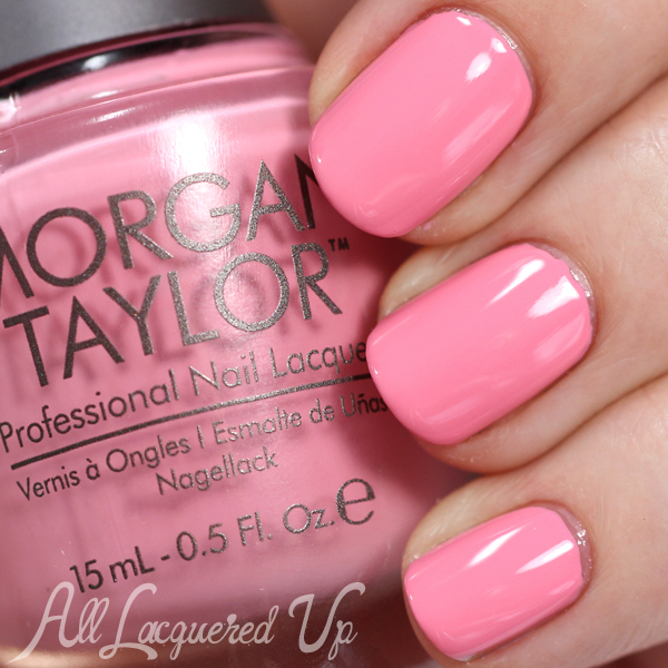 Morgan Taylor Cinderella - Ella of a Girl swatch via @alllacqueredup