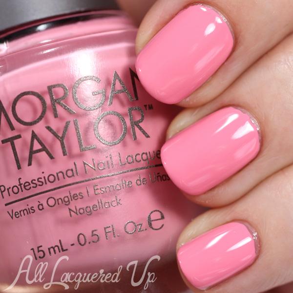 Morgan Taylor Cinderella - Ella of a Girl swatch via @alllacqueredup