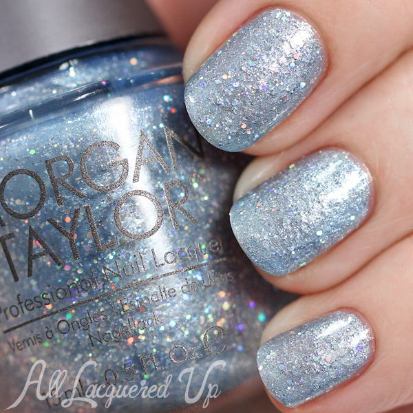 Morgan Taylor Cinderella - If the Slipper Fits swatch via @alllacqueredup
