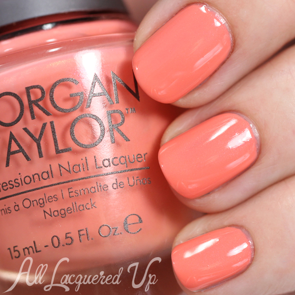 Morgan Taylor Cinderella - My Carriage Awaits swatch via @alllacqueredup