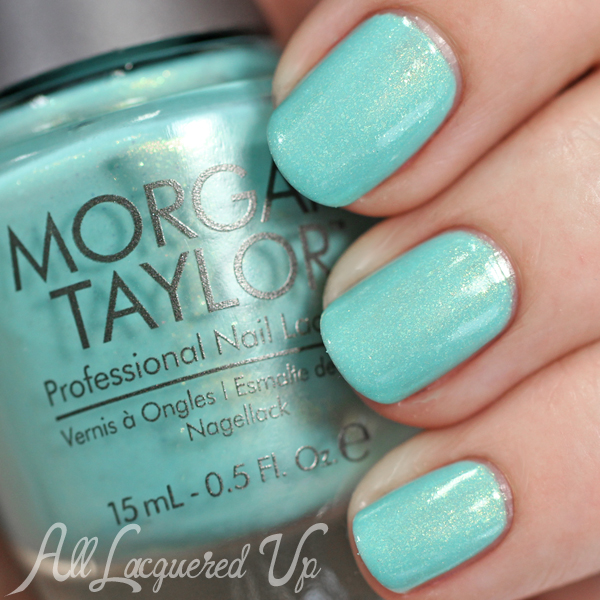 Morgan Taylor Cinderella - Party at the Palace swatch via @alllacqueredup