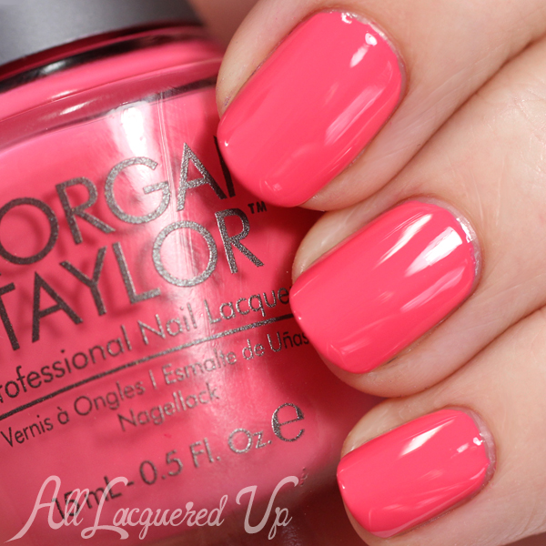 Morgan Taylor Cinderella - Watch Your Step, Sister! swatch via @alllacqueredup