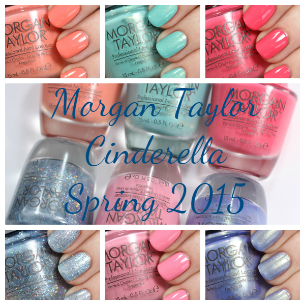 Morgan Taylor Cinderella swatches via @alllacqueredup