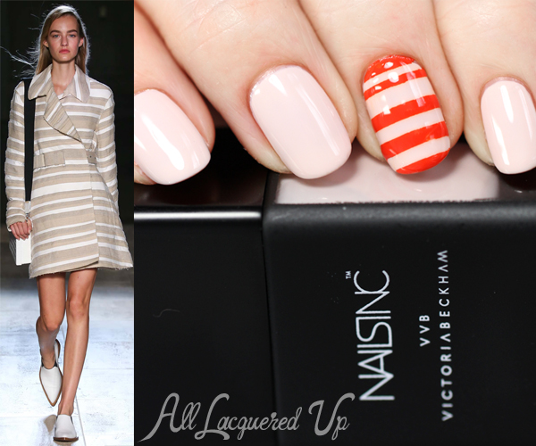 Nails Inc Victoria Beckham Nail Art via @alllacqueredup