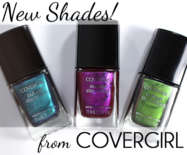 New COVERGIRL Outlast Nail Gloss - Spring 2015 via @alllacqueredup