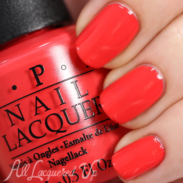 OPI Aloha from Hawaii swatch via @alllacqueredup