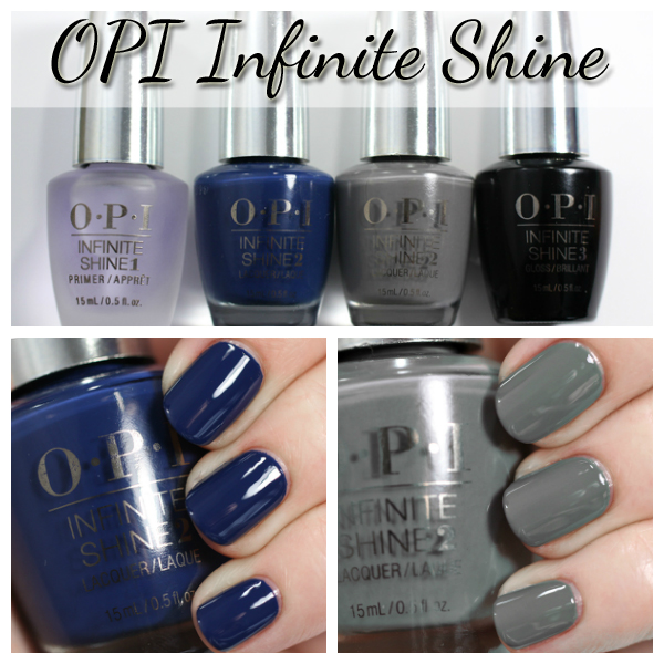 OPI Infinite Shine swatches via @alllacqueredup