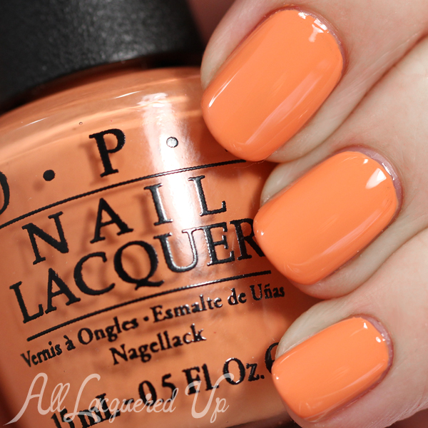 OPI Is Mai Tai Crooked swatch - Spring 2015 Hawaii via @alllacqueredup