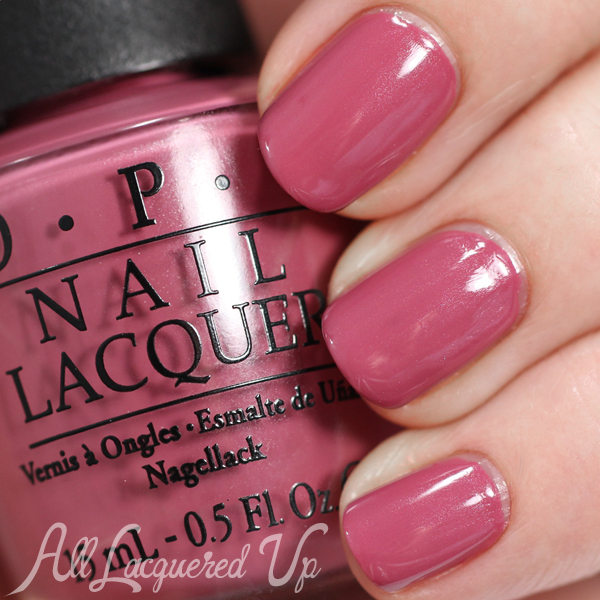 OPI Just Lanai-ing Around swatch - Spring 2015 Hawaii via @alllacqueredup