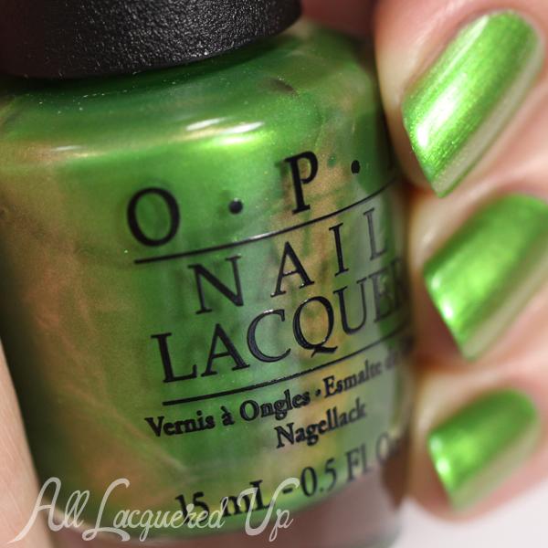 OPI My Gecko Does Tricks color shift - Spring 2015 Hawaii via @alllacqueredup