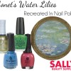 Monet In Nail Polish – 5000+ Bottles Recreate Water Lilies