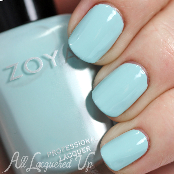 Zoya Lillian swatch - Spring 2015 via @alllacqueredup