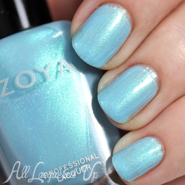 Zoya Rayne swatch - Spring 2015 via @alllacqueredup