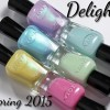 Zoya Spring 2015 Delight Collection Swatches & Review