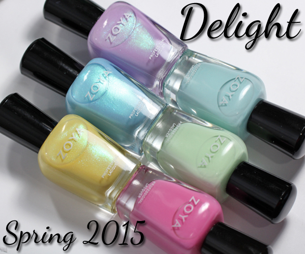 Zoya Spring 2015 Delight review via @alllacqueredup