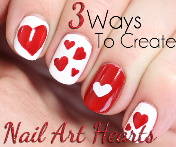 Valentine S Day Nails 4 Red Hot Manicure Ideas All Lacquered Up