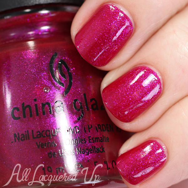 China Glaze It's Five O'clock Somewhere swatch via @alllacqueredup