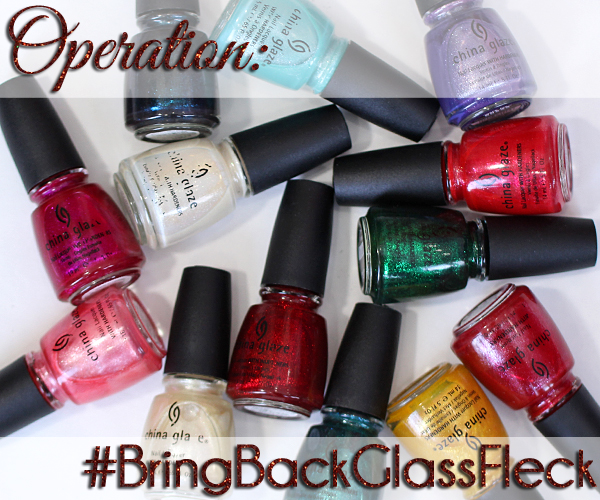 China Glaze Glass-Fleck #BringBackGlassFleck via @alllacqueredup