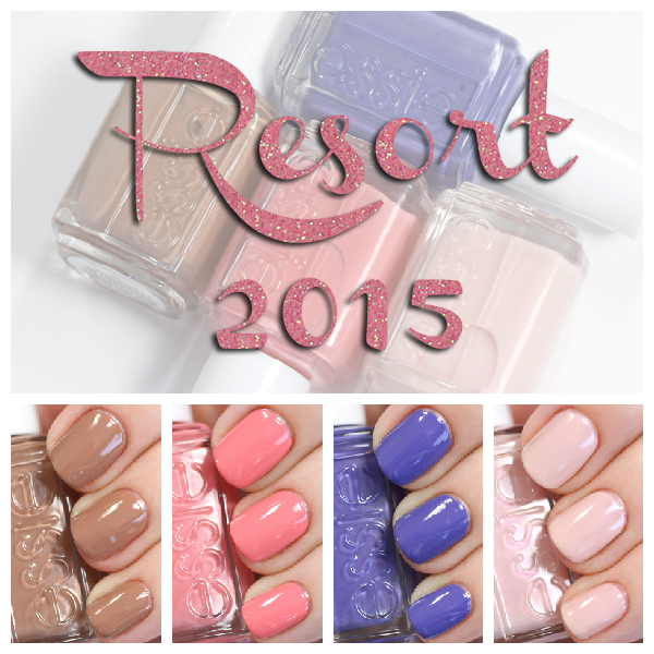 Essie Resort 2015 swatches via @alllacqueredup