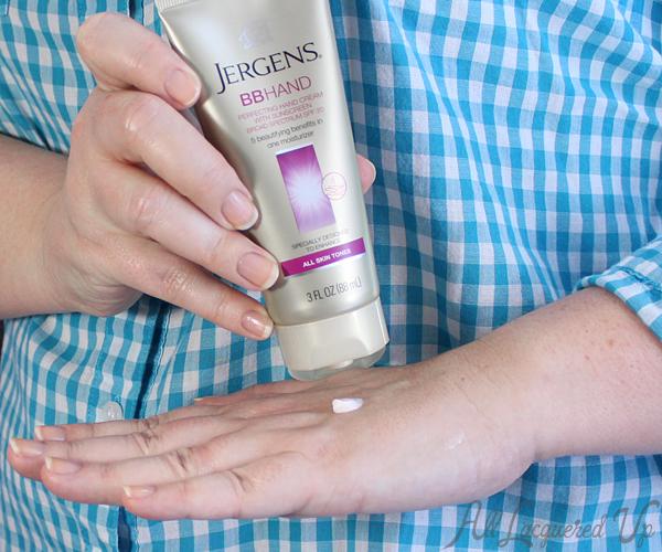 Jergens BB Hand Cream via @alllacqueredup