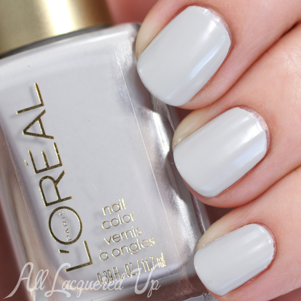 LOreal Dark Sides of Grey Nail Swatches & Review : All Lacquered Up