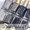L'Oréal Dark Sides of Grey Nail Swatches & Review