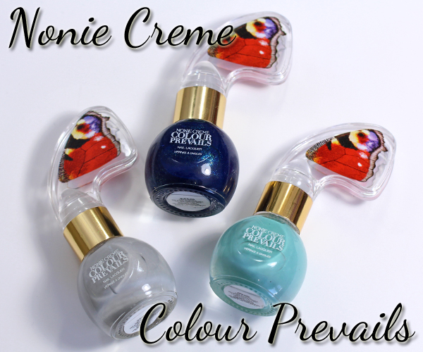 Nonie Creme Colour Prevails nail polish review via @alllacqueredup