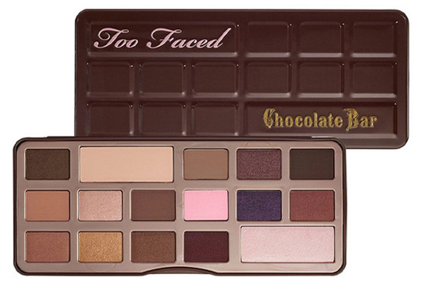 Too Faced Chocolate Bar via @alllacqueredup