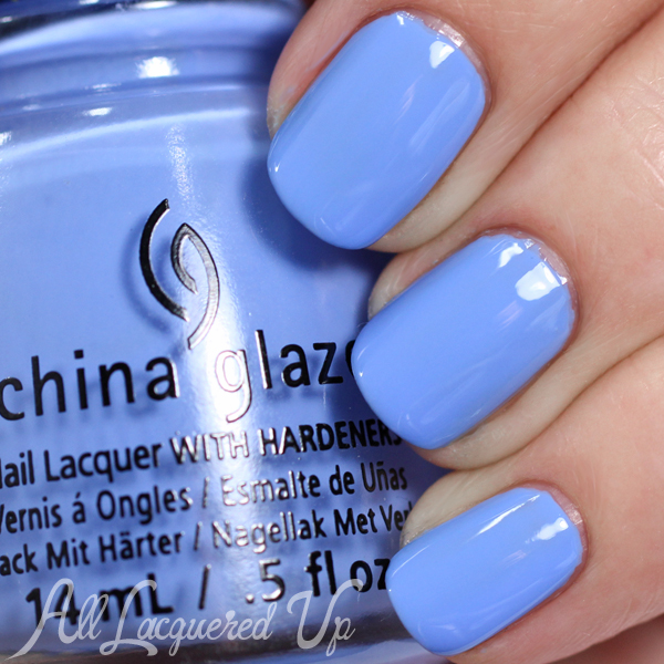 China Glaze Boho Blues Spring 2015 via @alllacqueredup