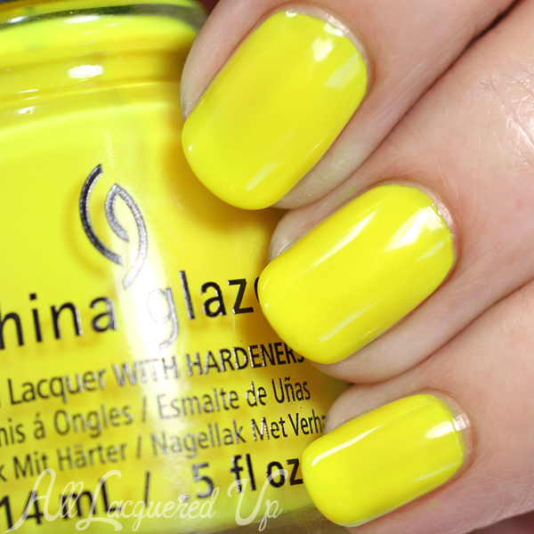 China Glaze Daisy Know My Name? swatch - Summer 2015 via @alllacqueredup