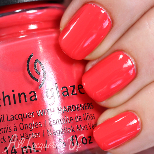 China Glaze I Brake for Colour Spring 2015 via @alllacqueredup