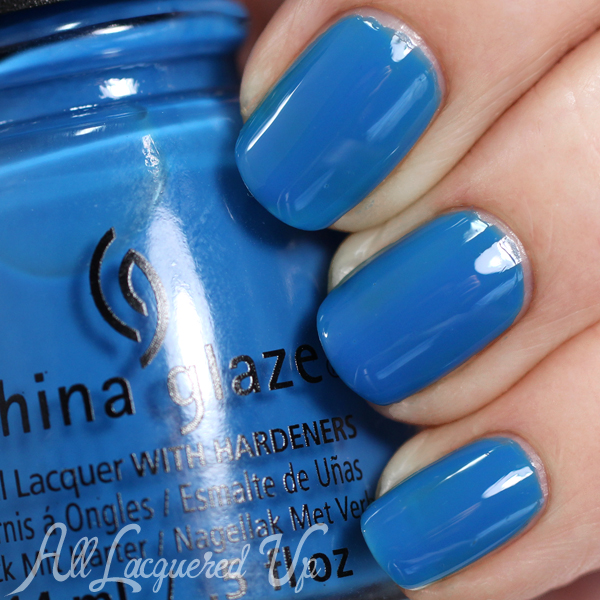 China Glaze License & Registration Pls Spring 2015 via @alllacqueredup
