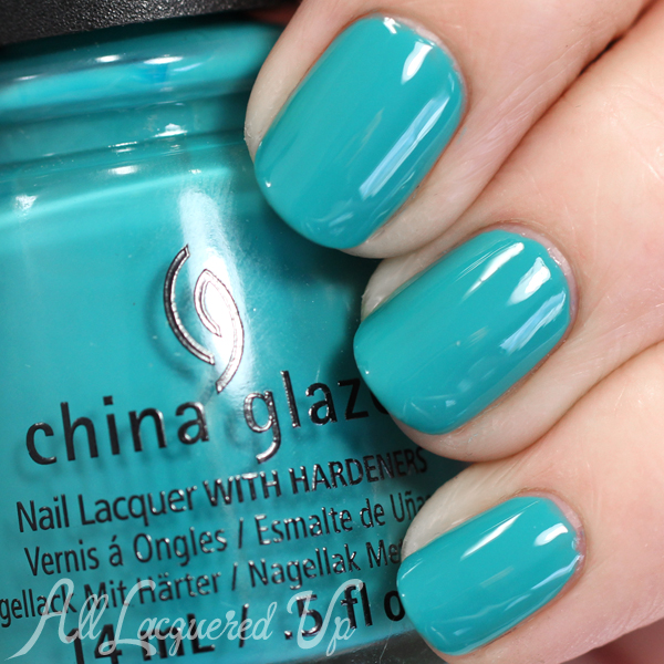 China Glaze My Way or the Highway Spring 2015 via @alllacqueredup