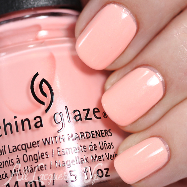China Glaze Pack Lightly Spring 2015 via @alllacqueredup