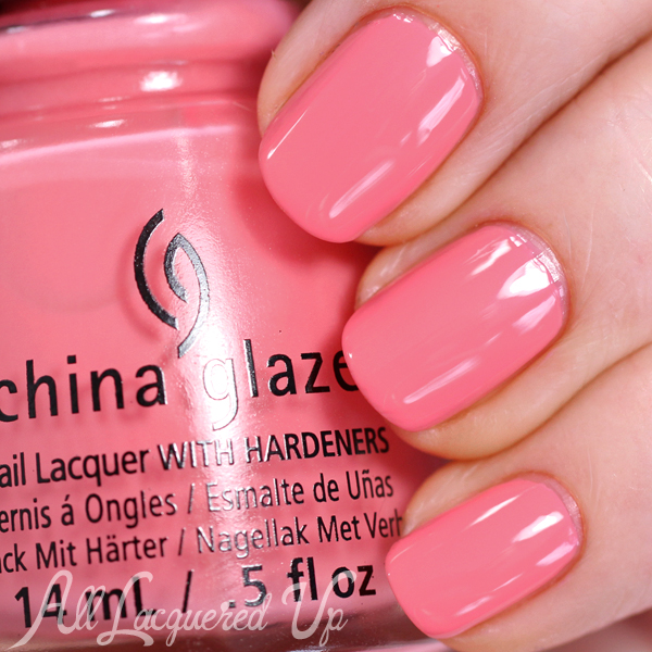 China Glaze Pinking Out the Window Spring 2015 via @alllacqueredup