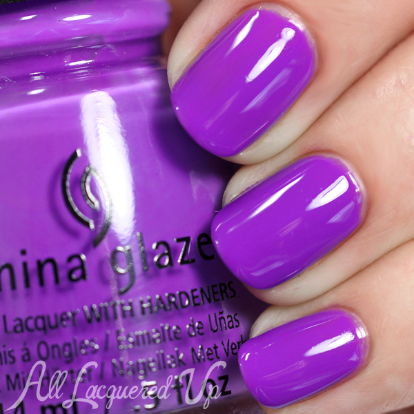 China Glaze Plur-ple swatch - Summer 2015 via @alllacqueredup