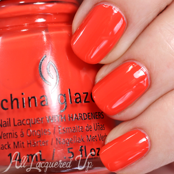 China Glaze Pop The Trunk Spring 2015 via @alllacqueredup