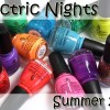 China Glaze Electric Nights Summer 2015 Swatches & Review