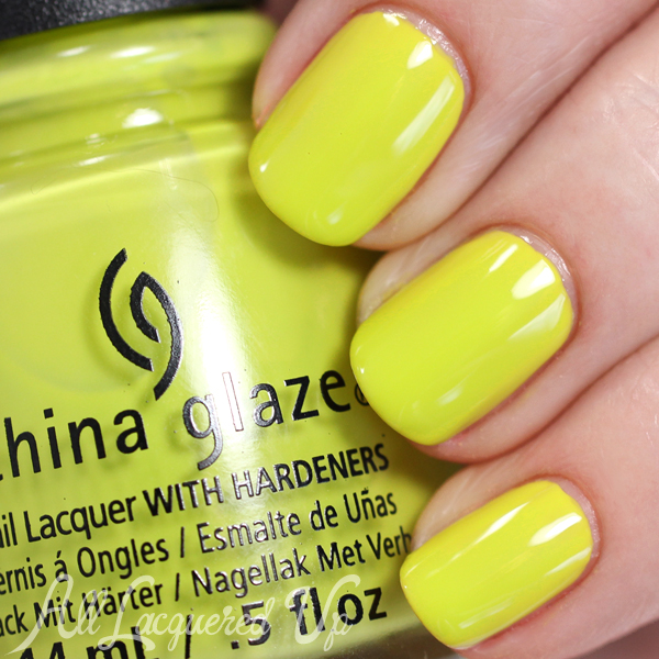 China Glaze Trip of a Lime Time Spring 2015 via @alllacqueredup