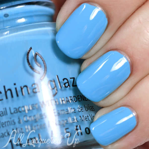 China Glaze UV Meant to Be - Summer 2015 via @alllacqueredup