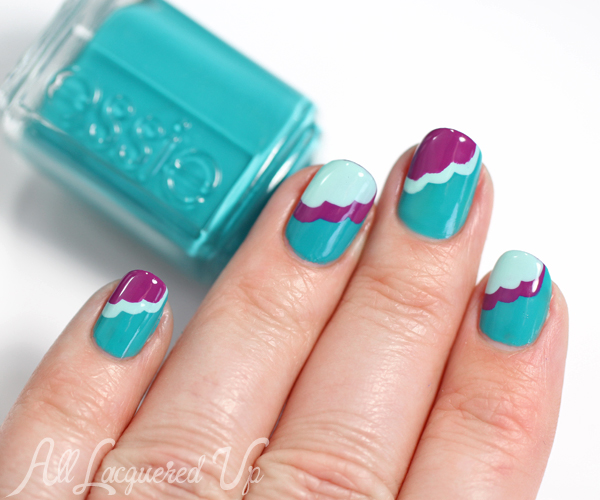 Essie Spring 2015 Nail Art : All Lacquered Up
