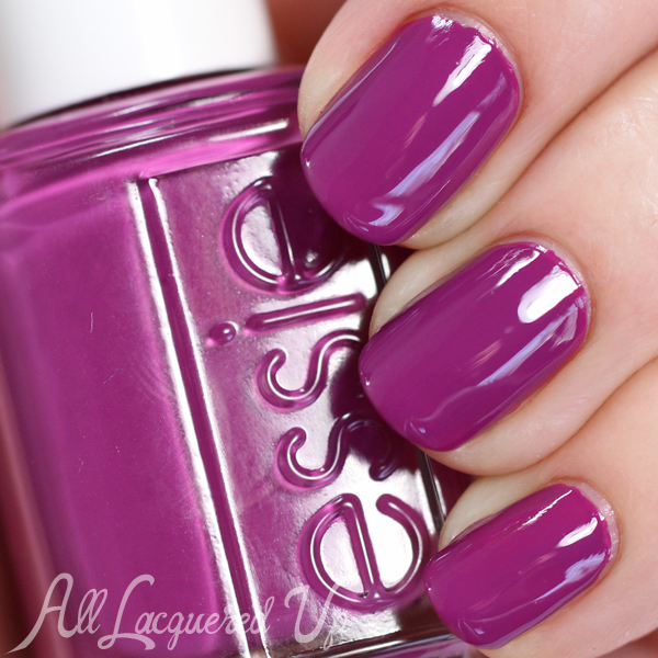 Black Nail Polish Swatch: Essie Spring 2105 Flowerista Swatches & Review : All